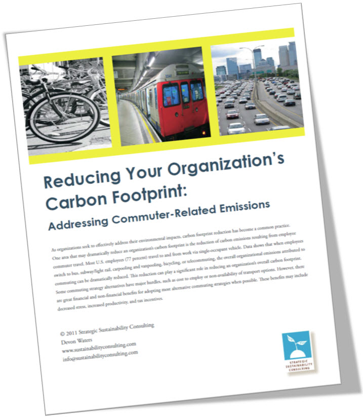 Reducing Your Organization's Carbon Footprint: Addressing Commuter-Related Emissions