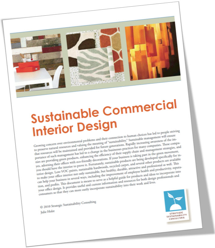 Sustainable Commercial Interior Design