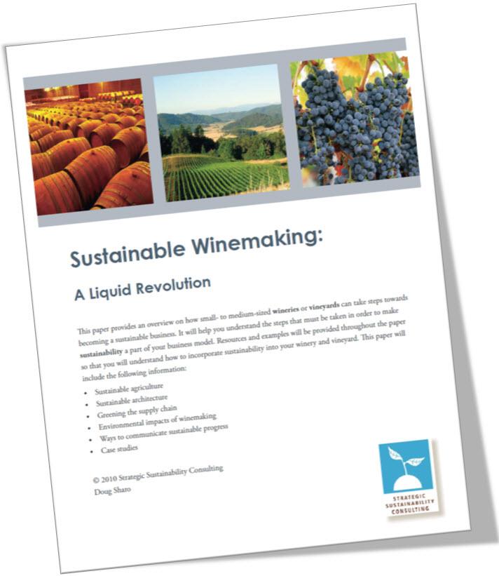 Sustainable Winemaking: A Liquid Revolution