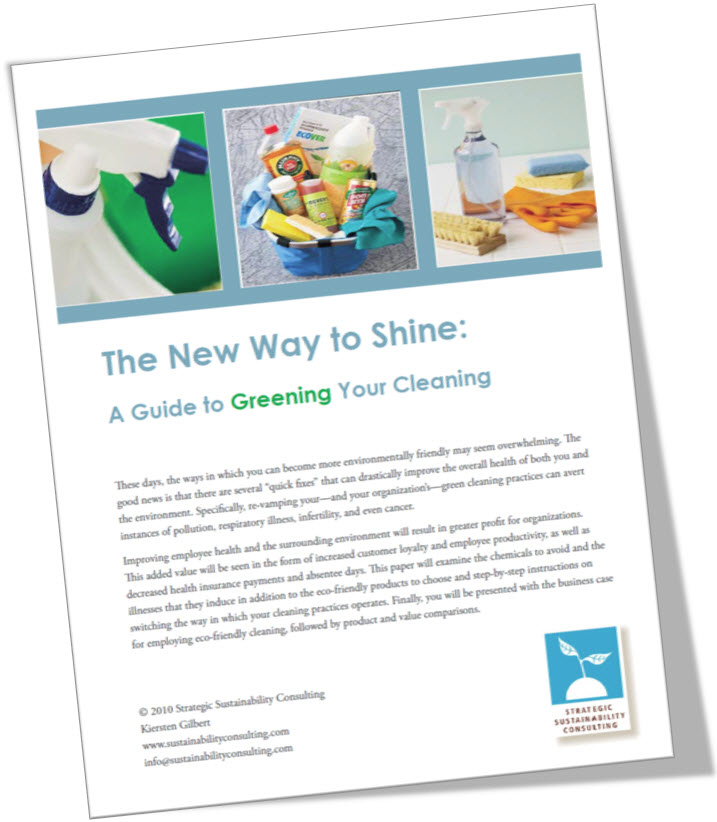 The New Way to Shine: A Guide to Greening Your Cleaning
