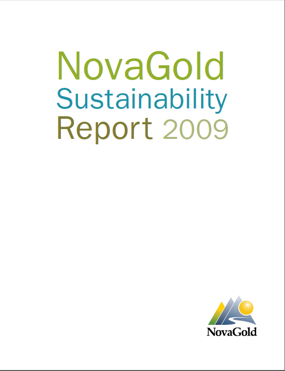 NovaGold - 2009 Sustainability Report
