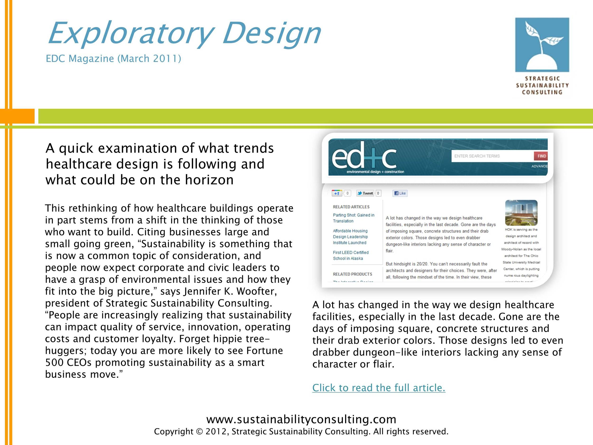 Exploratory Design