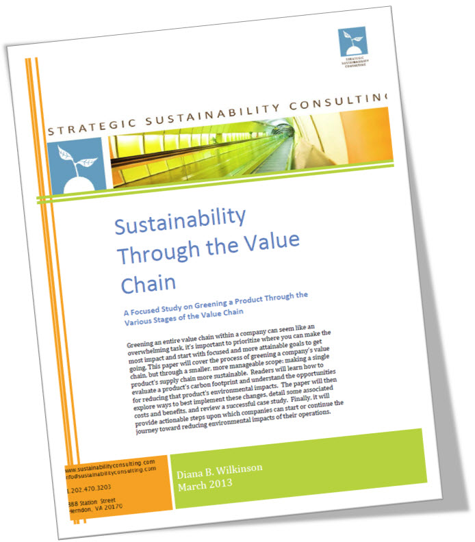 Sustainability Through the Value Chain