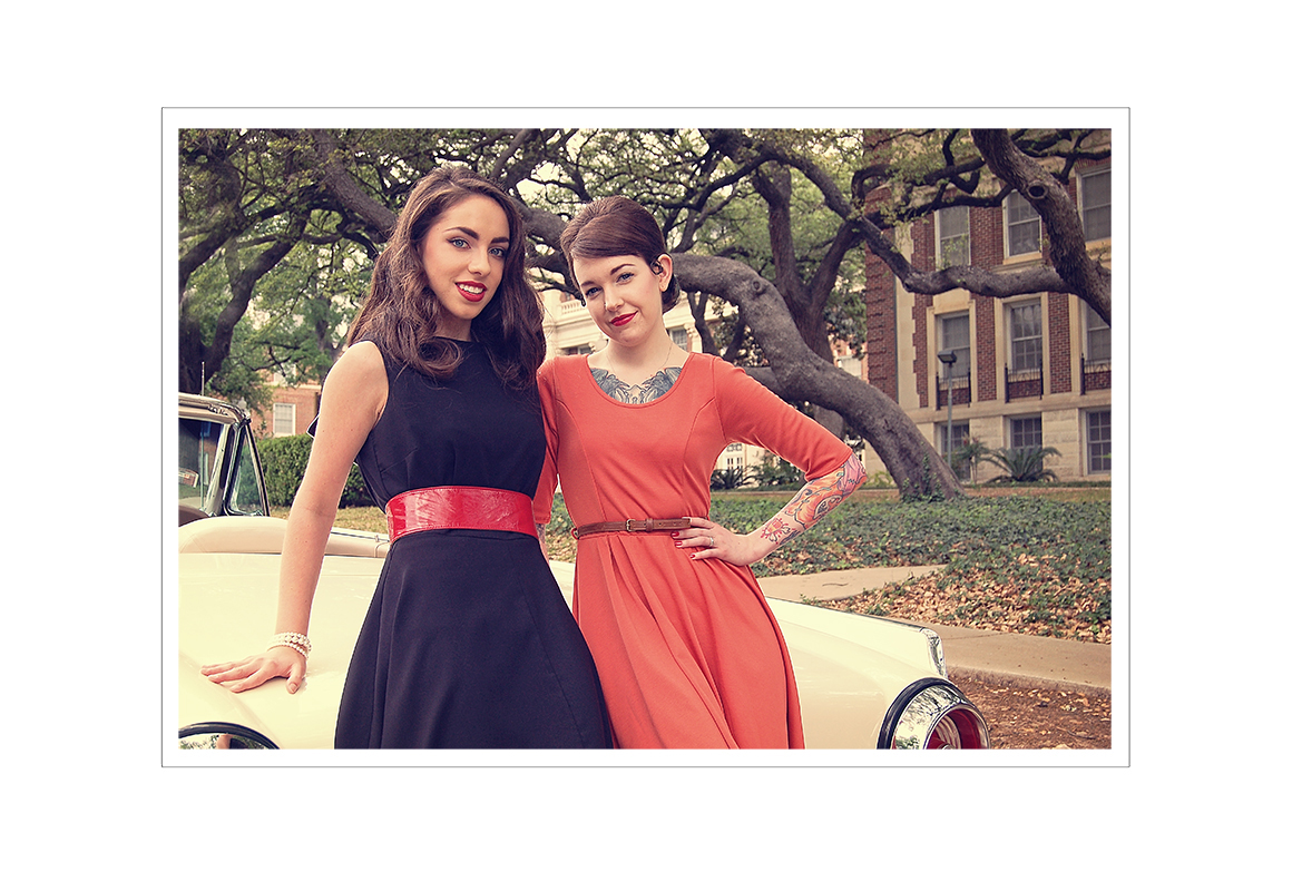 Fifties shoot at Keith Kristofer Salon