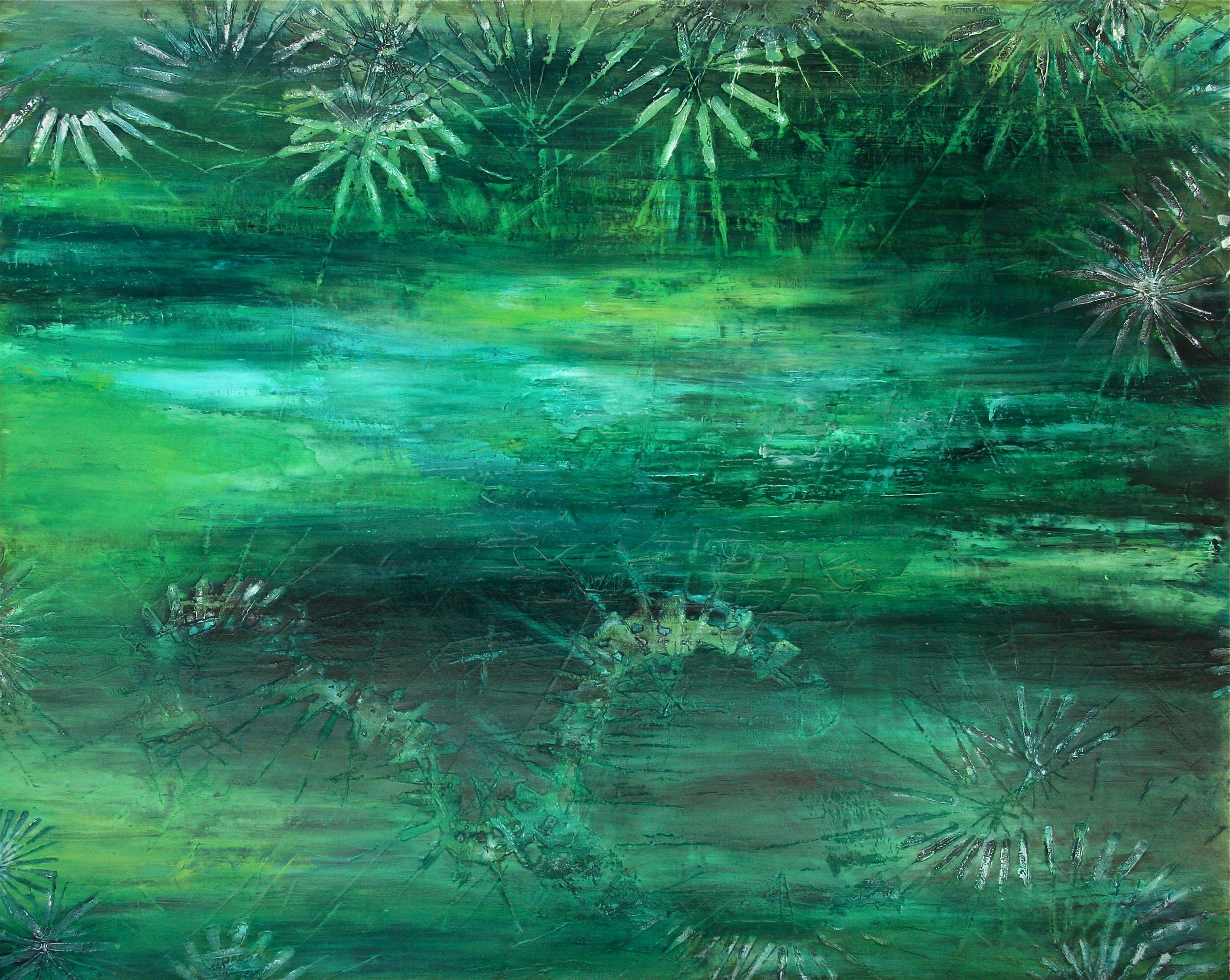 Treading Water,        60x48