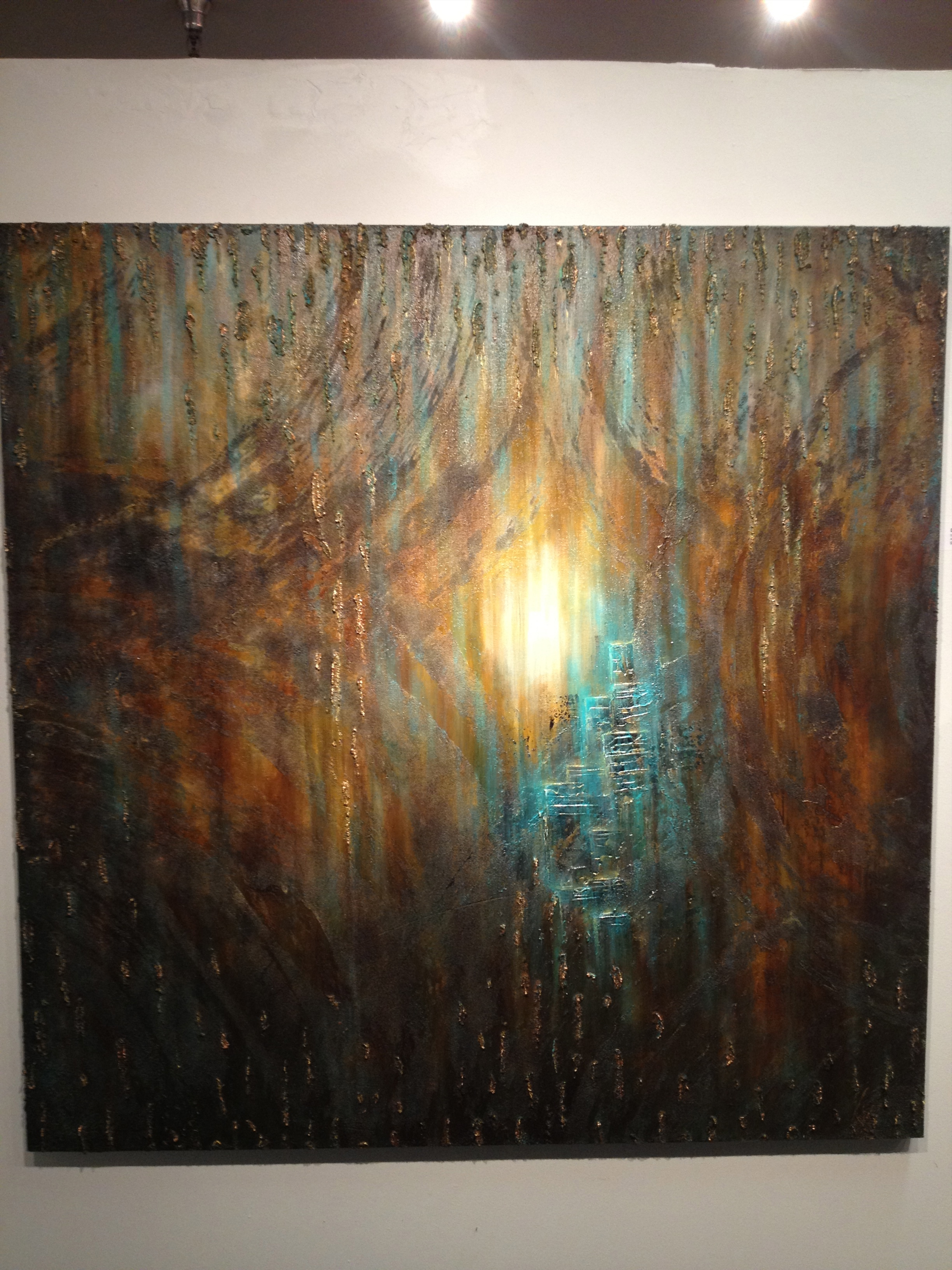 The Beyond,  48x48 shown at Gallery Expo