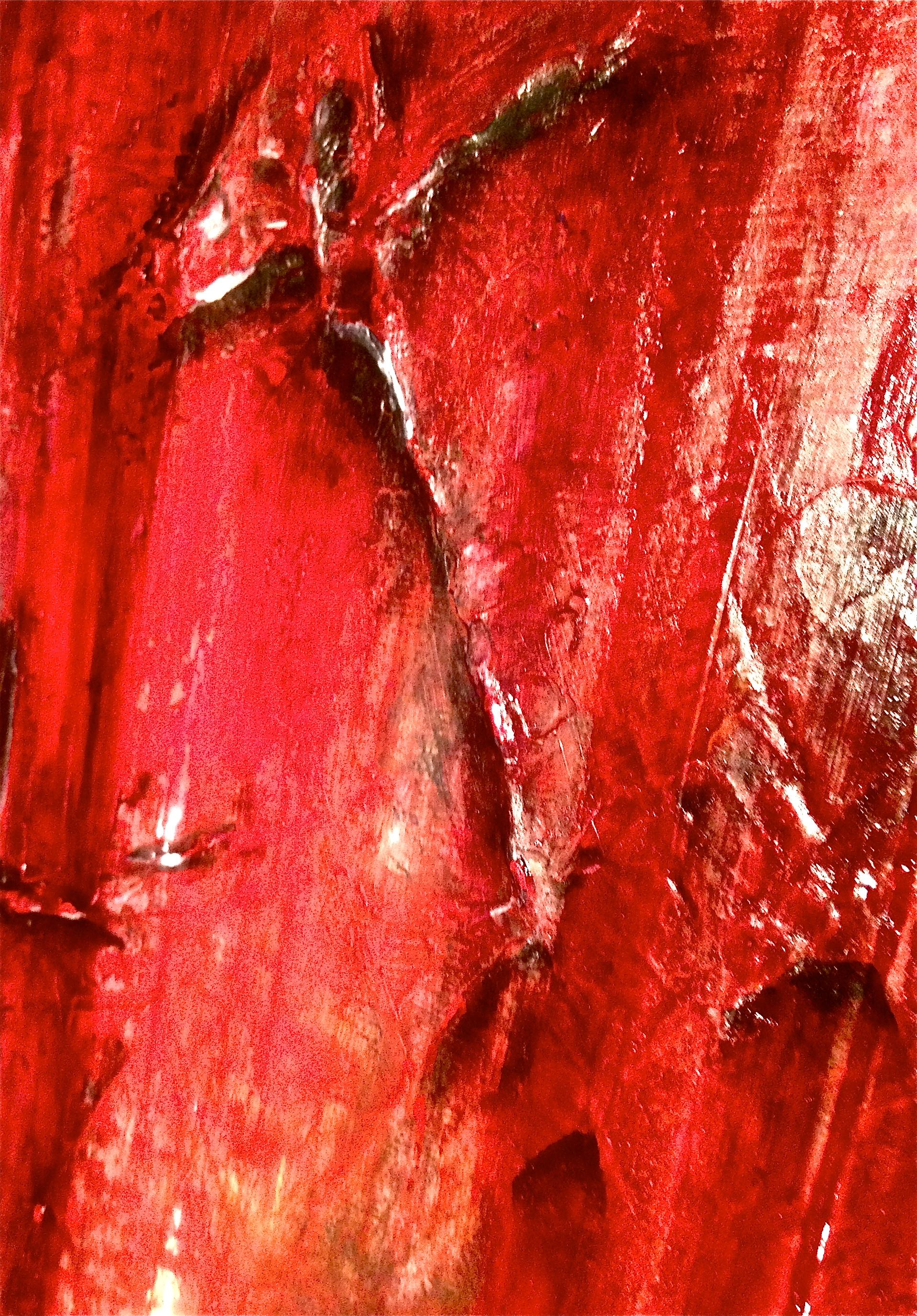 """""""Forbidden"""" close up of texture detail"""