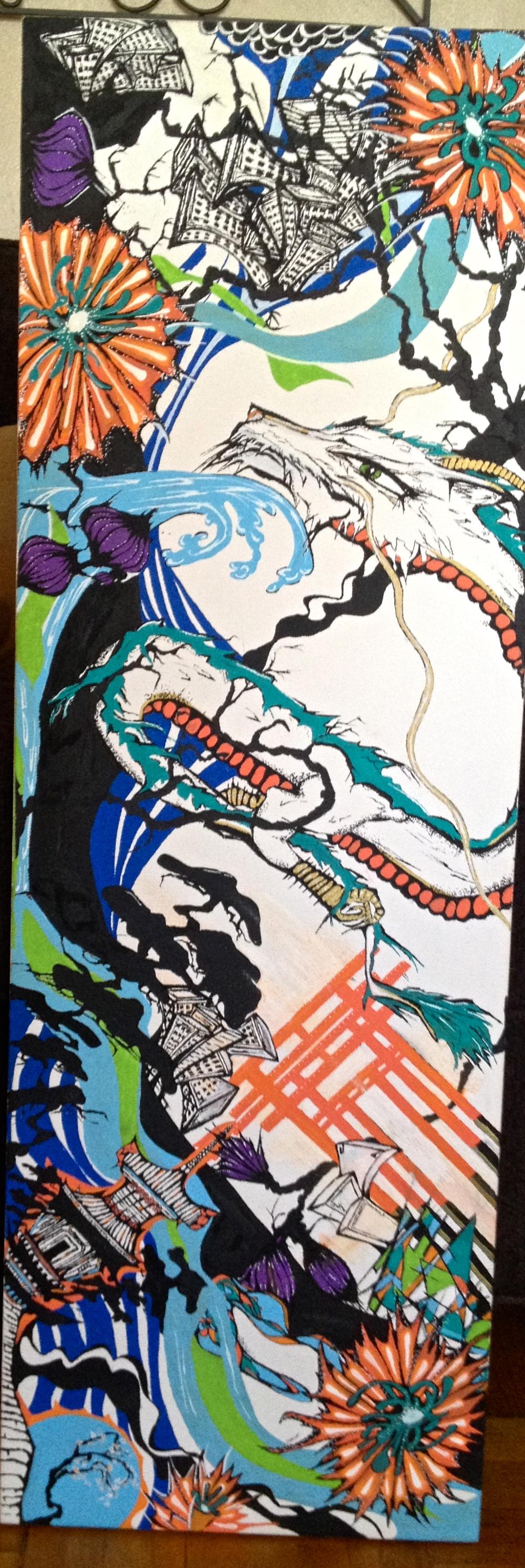 Work in progress-Kellie Thomas-Walker Art