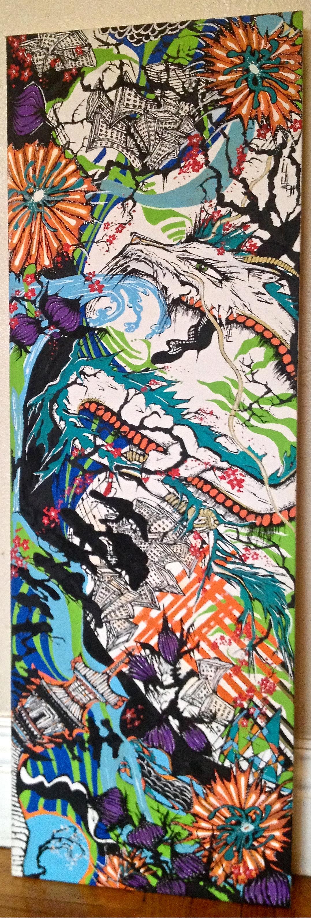 Work in progress  Kellie Thomas-Walker Art