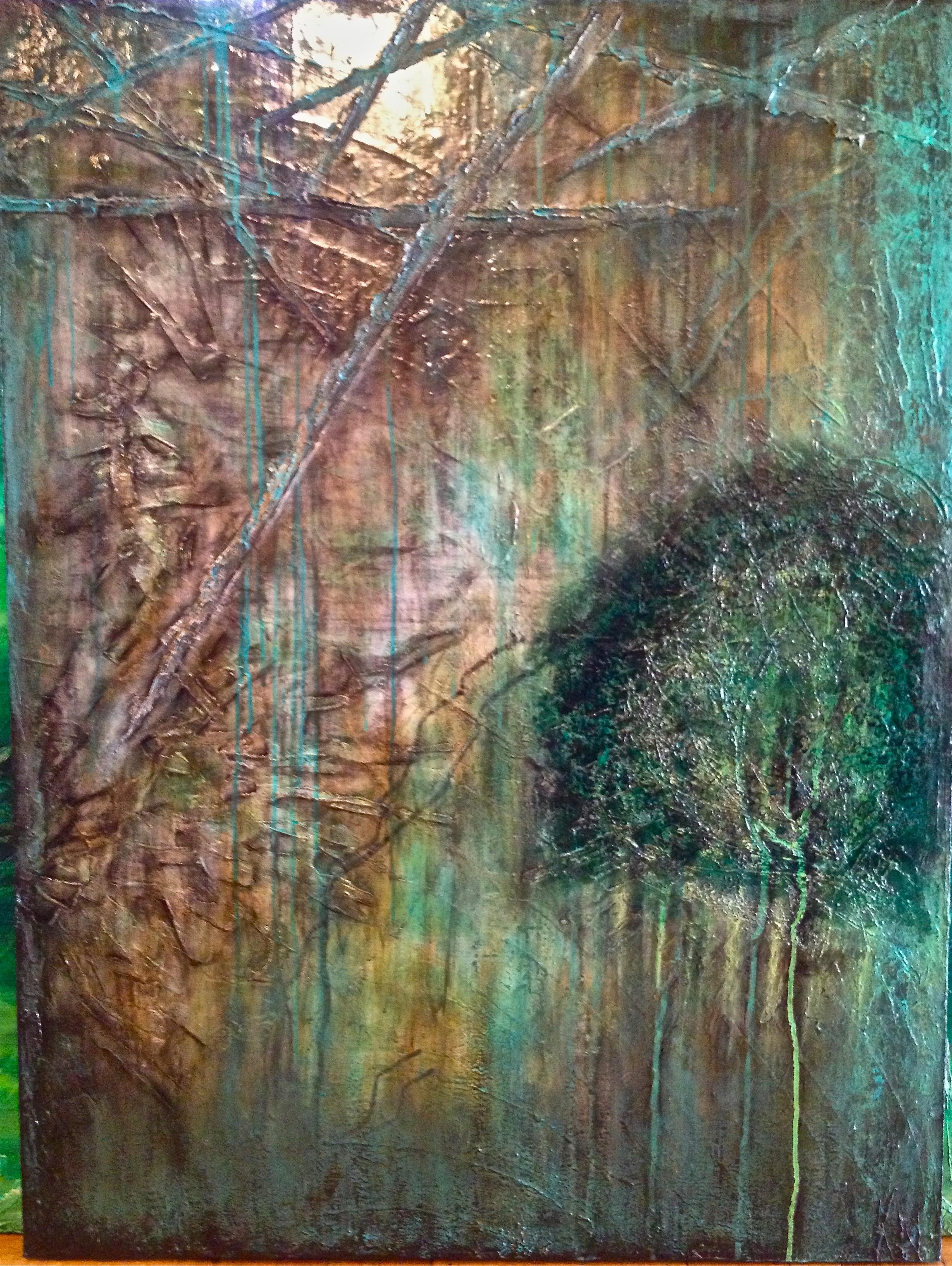 The Elements    48x36, acrylic on canvas, $850