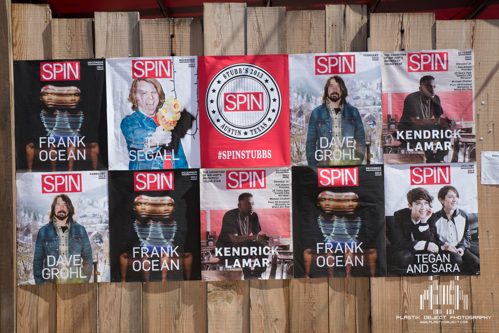 Spin took over Stubb's Bar-B-Que for their showcases