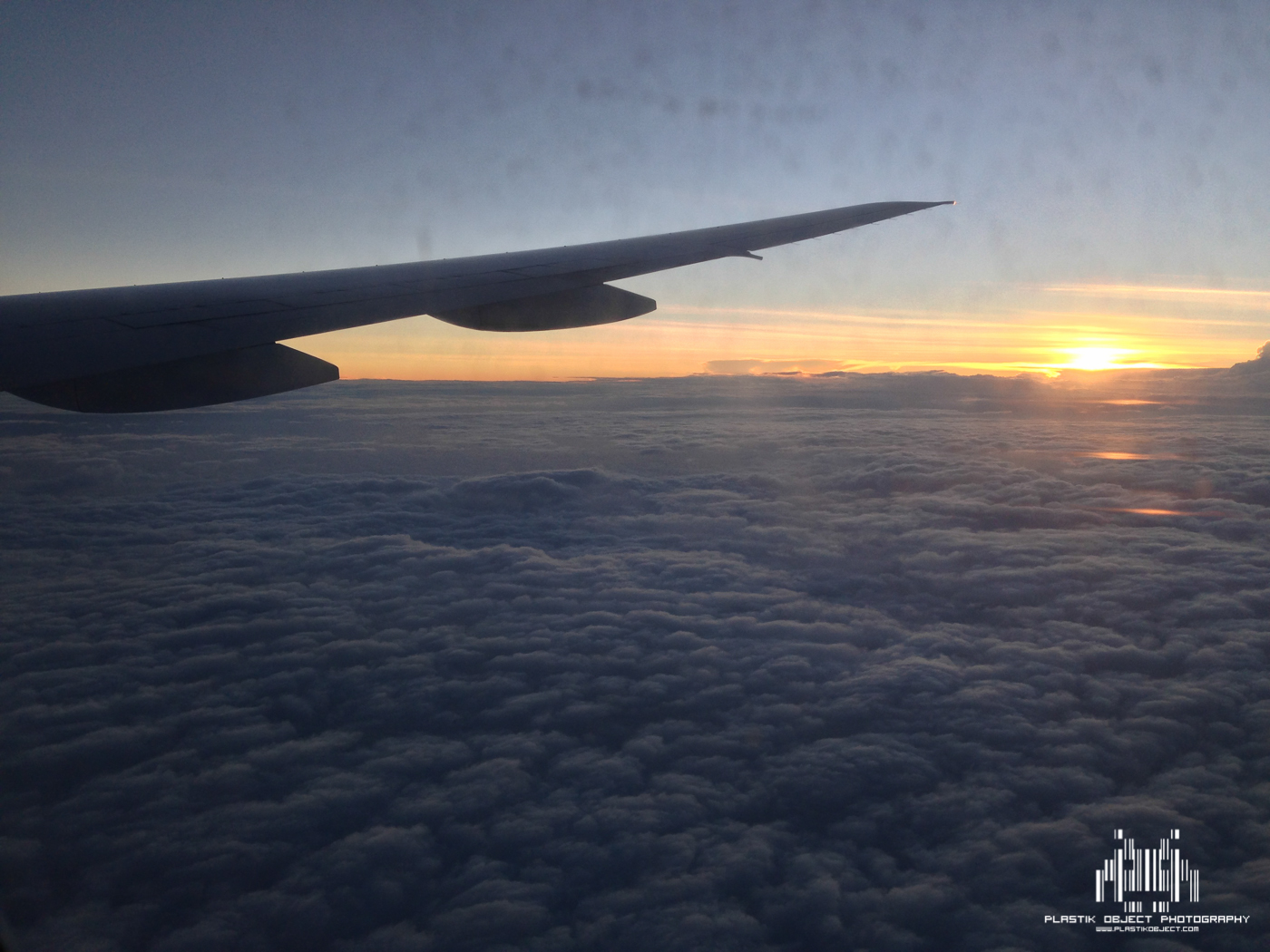 Sunset somewhere over Ethiopia.