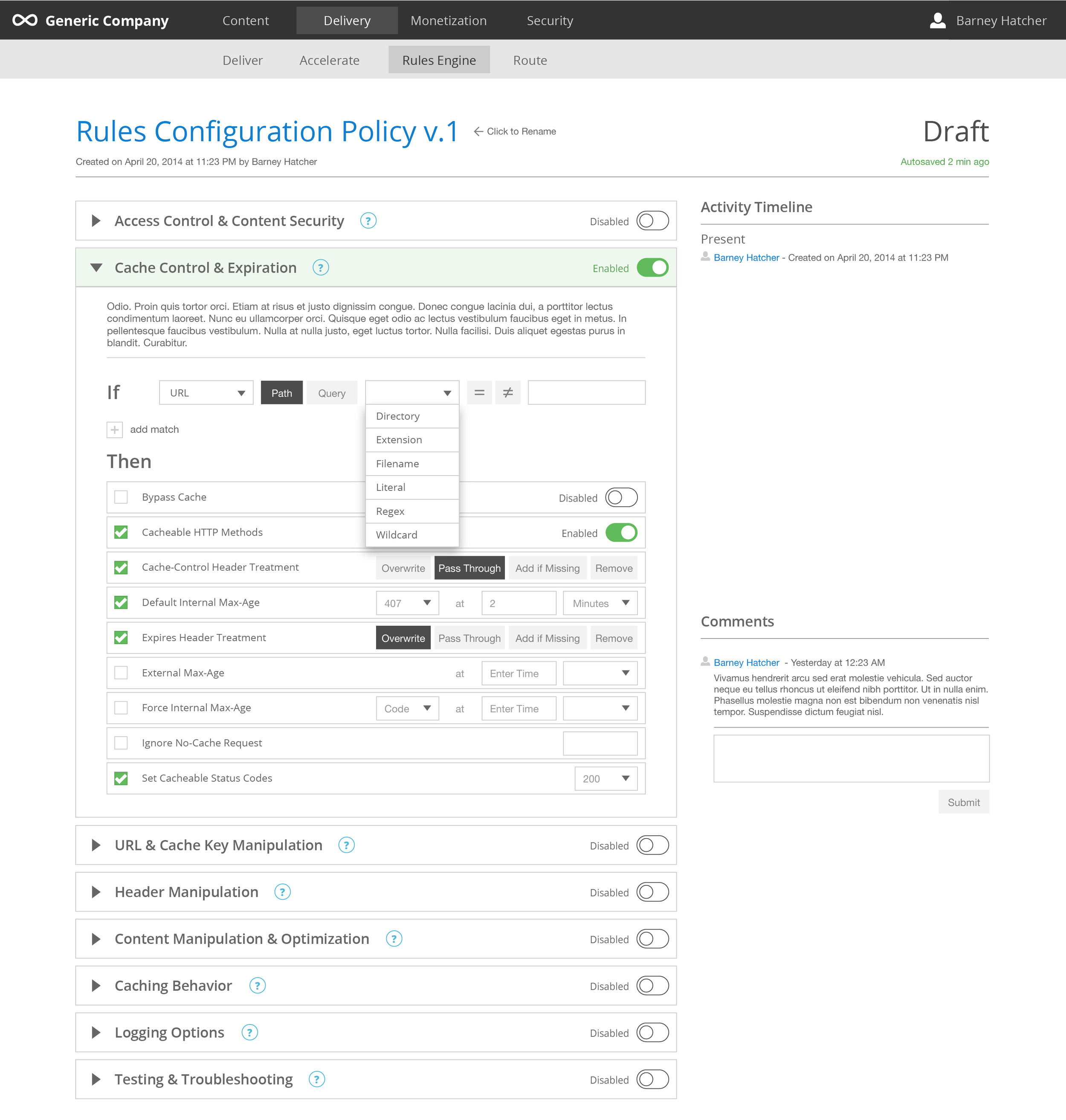 ux-rules-engine-v1_configuration policy-draft-1 enabled-features populated-match-url-secondary dropdown.png