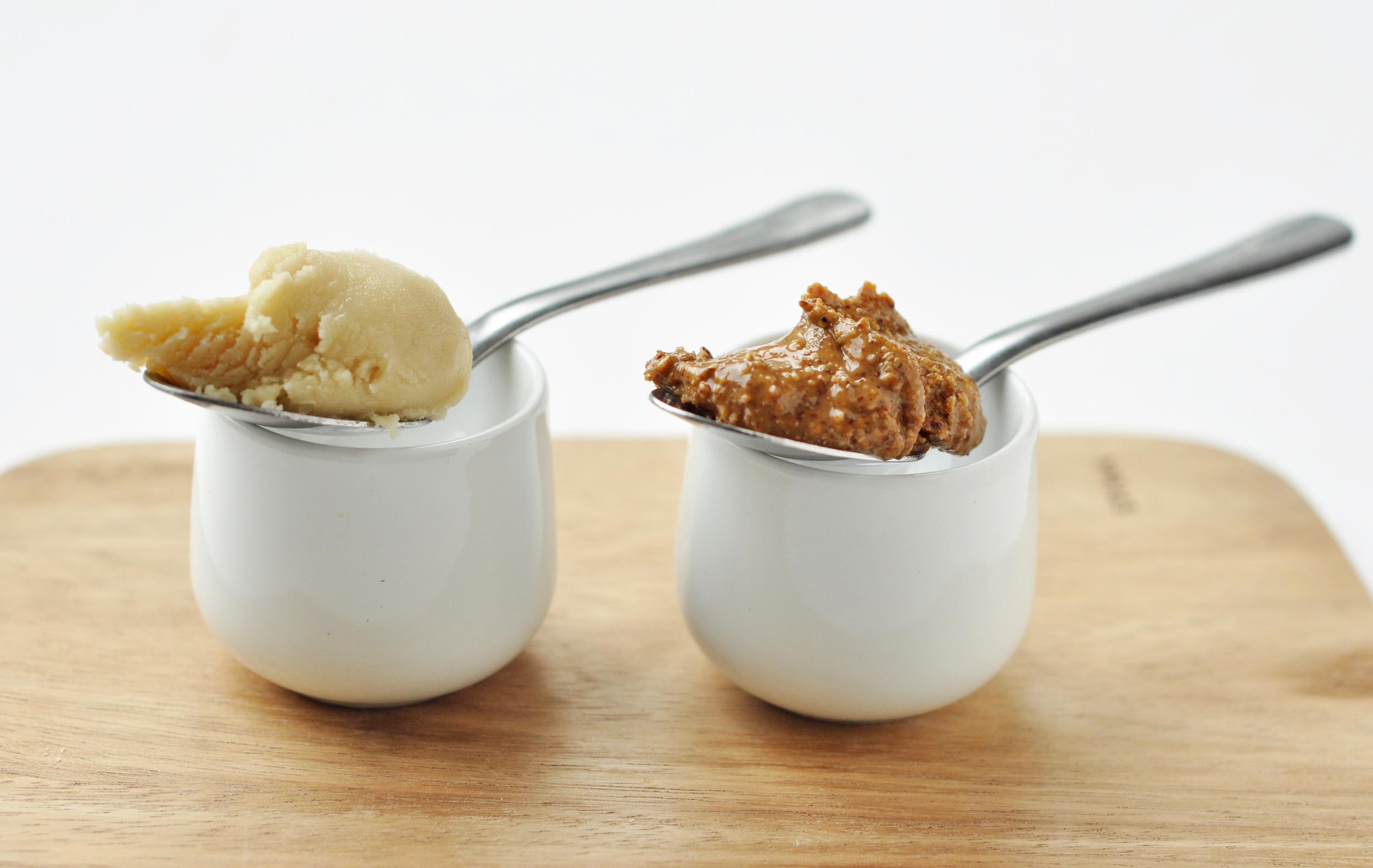 almond paste vs almond butter