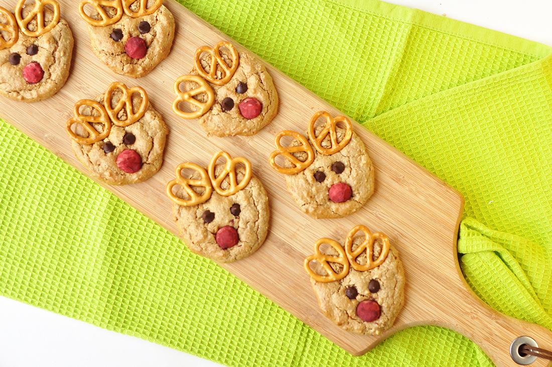Oat baked cookies...
