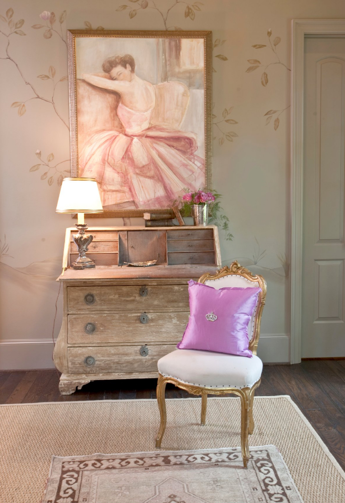 Pink Ribbon Showhouse, Houston, TX   photo:    Dodson Interiors