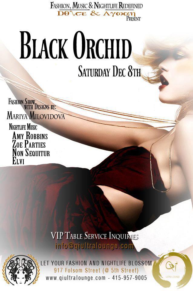 black orchid non sequitur dolce ayman
