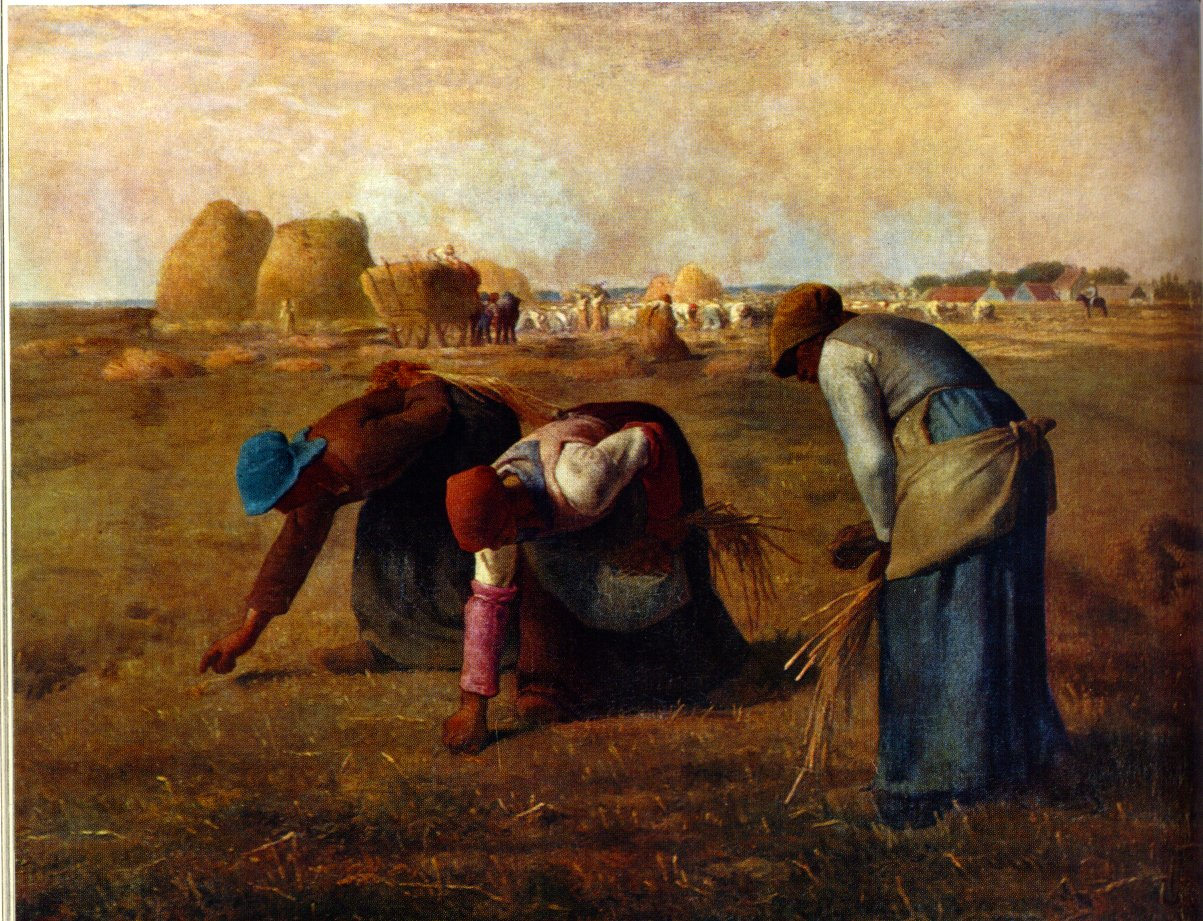 """The Gleaners"" – Jean-François Millet"