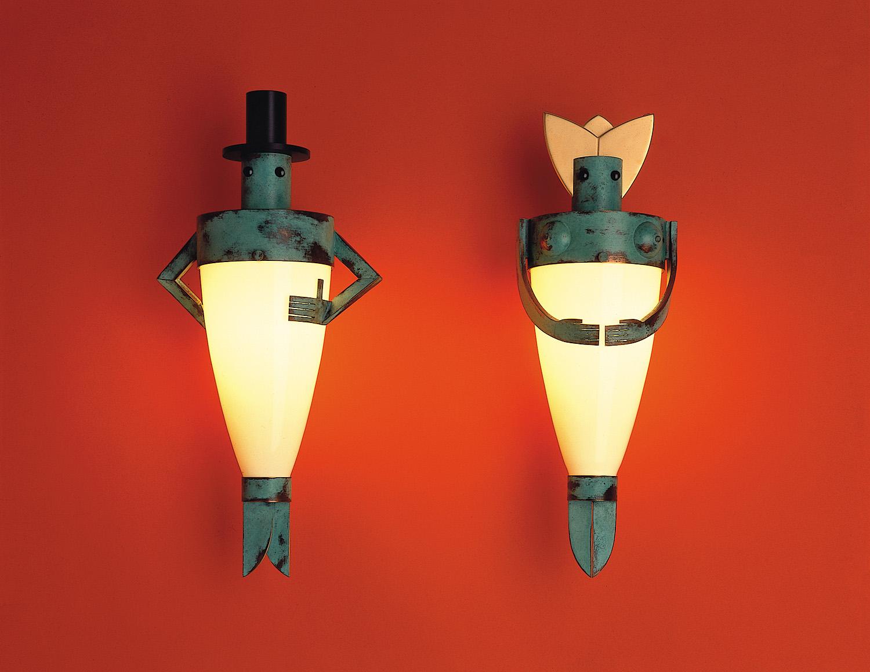 1987 Man Lamp and Woman Lamp.jpg