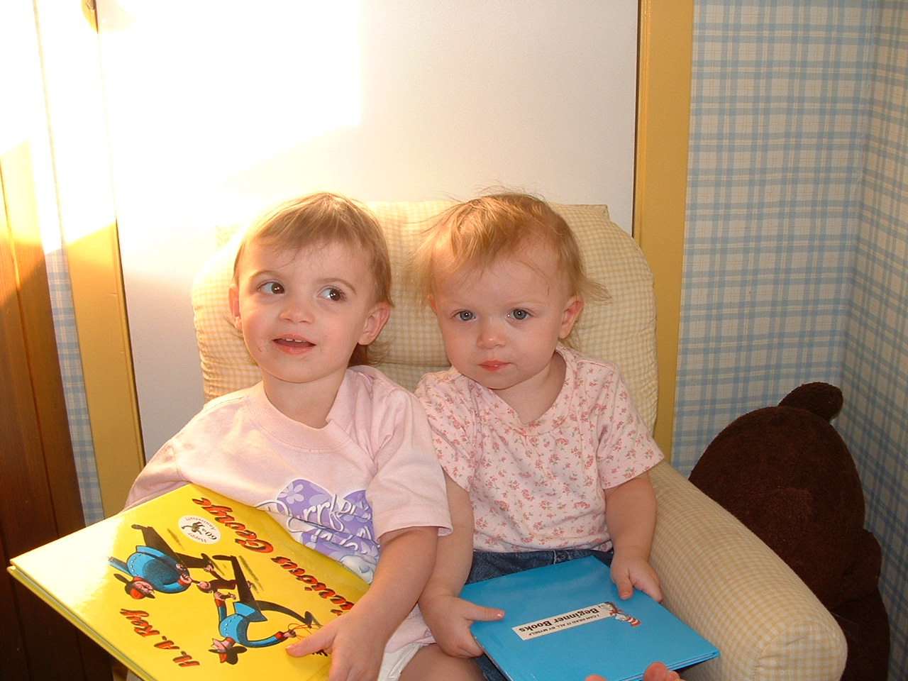 *My daughters. a long, long, long, LONG time ago.*