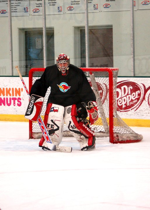 My husband last year. I helped design the pads.