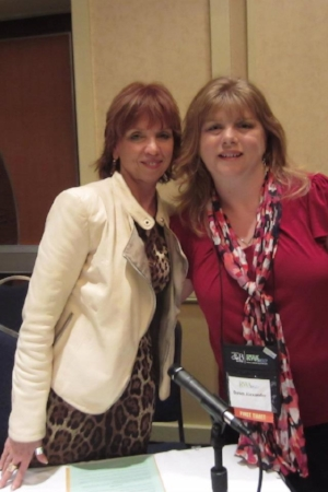Nora Roberts and me 2012. Clearly we are BFFs.:)