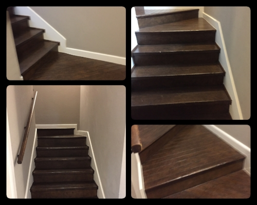 Stairs, stairs, and more stairs.