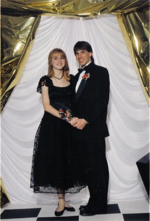 Prom 1993. Better guy!Better hair!
