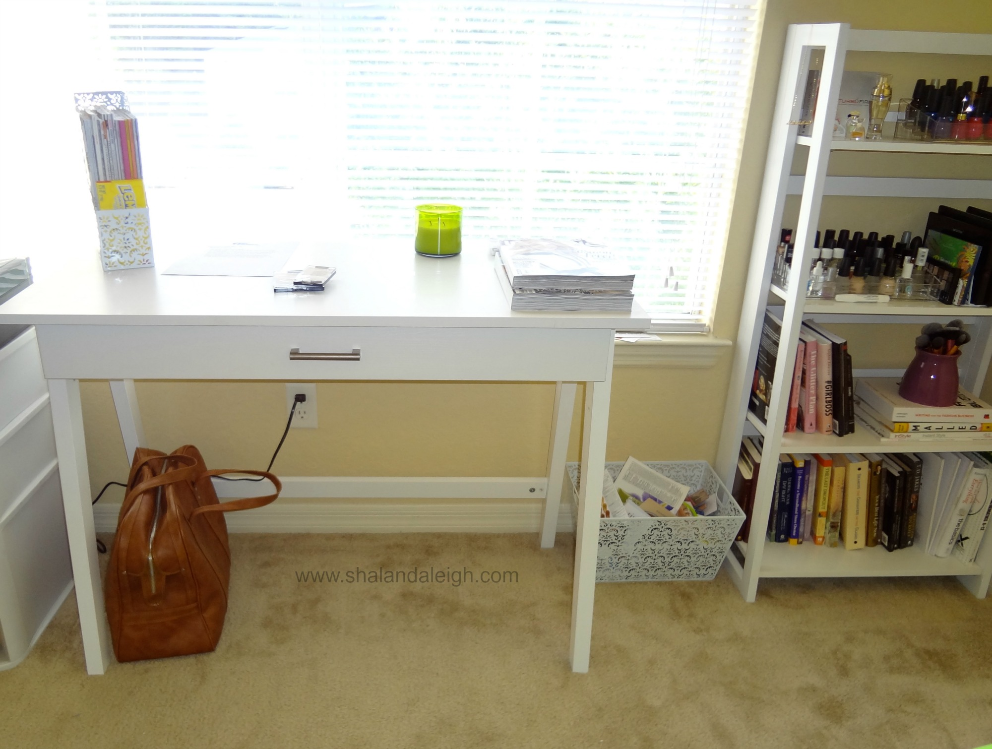 I used to think white furniture was only for children, but I am into the crisp and clean look of these pieces.