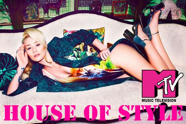 Iggy Azalea is the 2014 host of MTV's House of Style.  Photo Credit