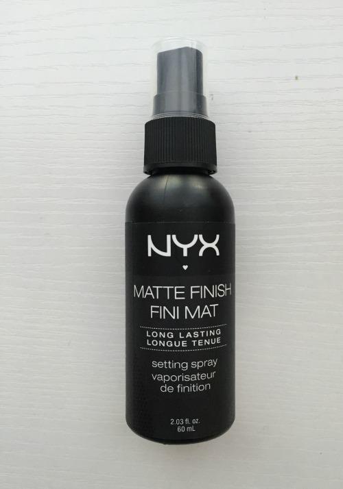 NYX Matte Finish Spray