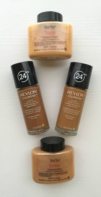 Ben Nye Translucent Powders and Revlong ColorStay Foundation