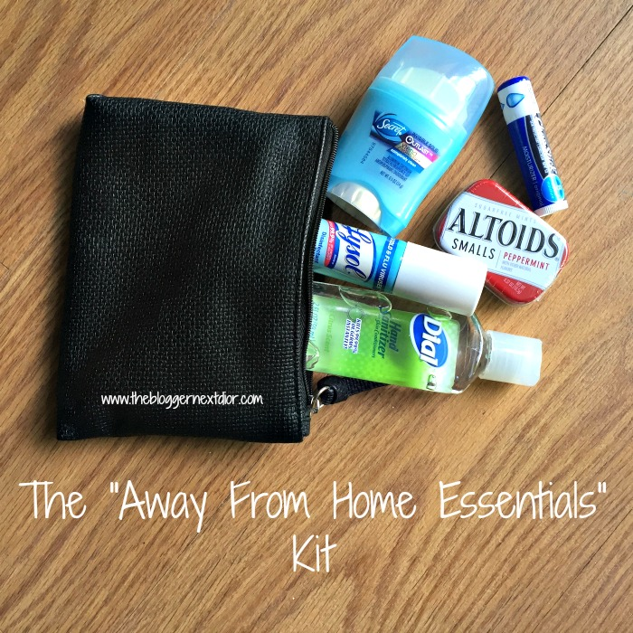 """The """"Away From Home Essentials"""" Kit - www.thebloggernextdior.com.jpg"""