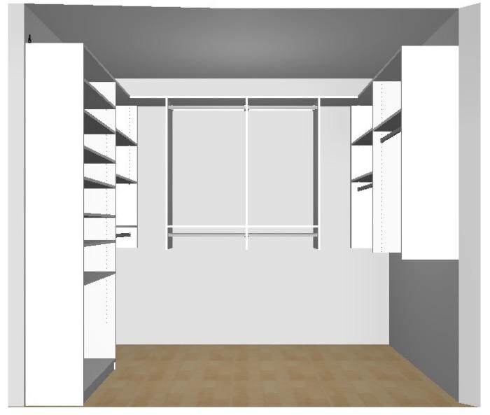 Master Closet View 1