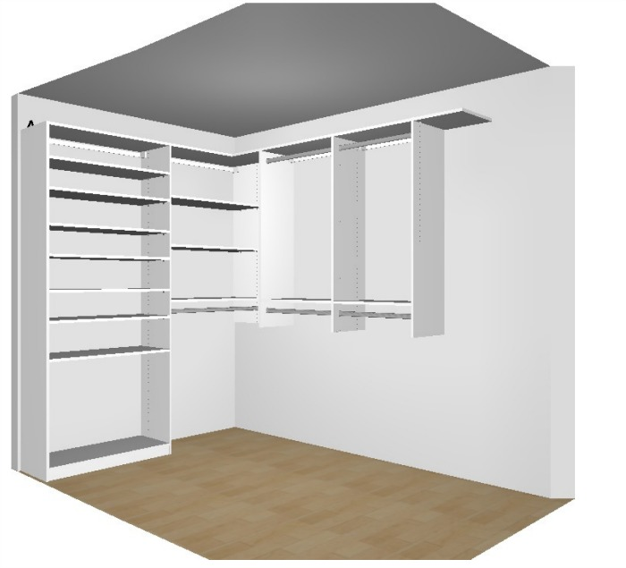 Master Closet View 2