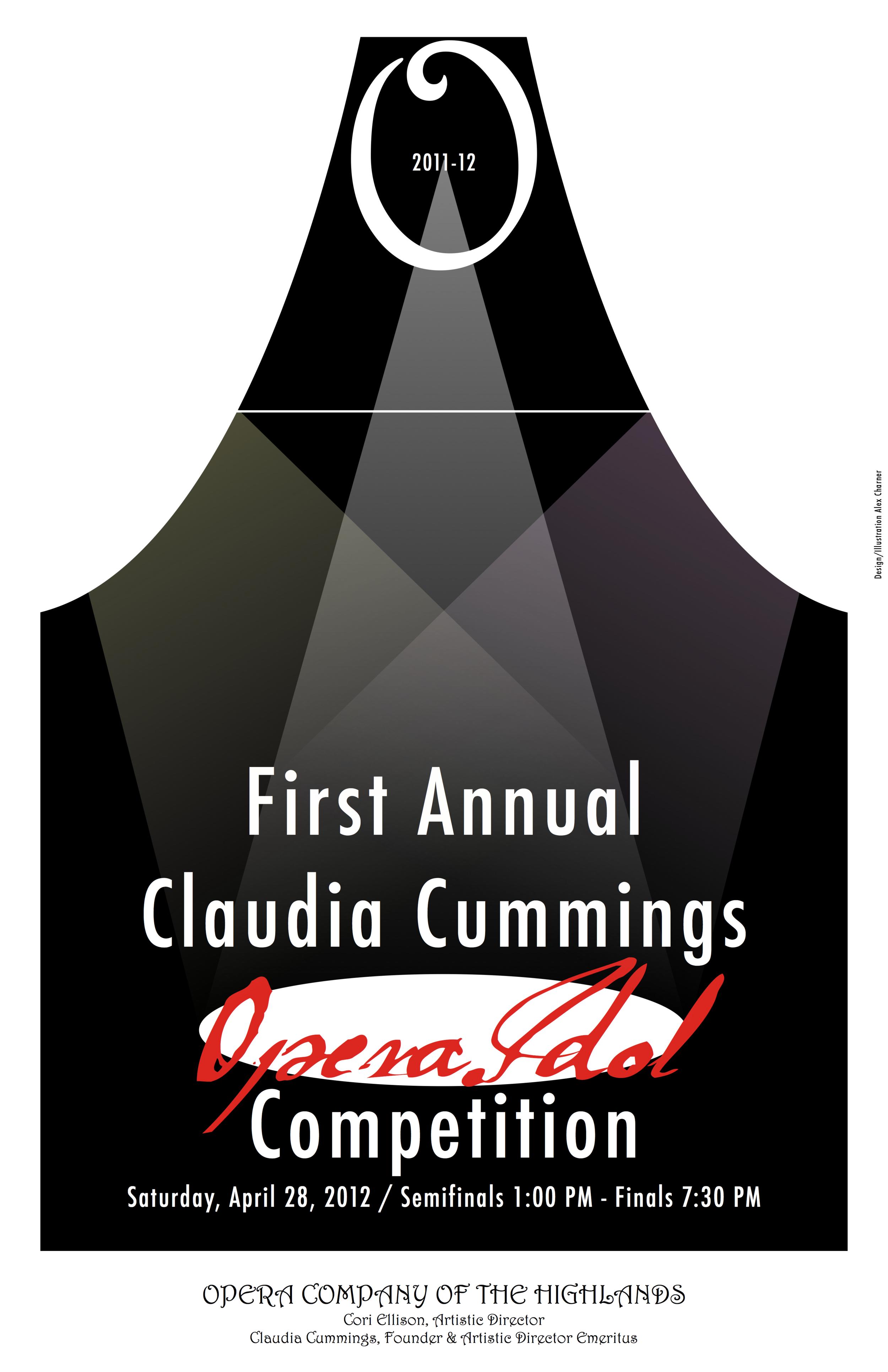 First Annual Claudia Cummings Opera Idol Competition