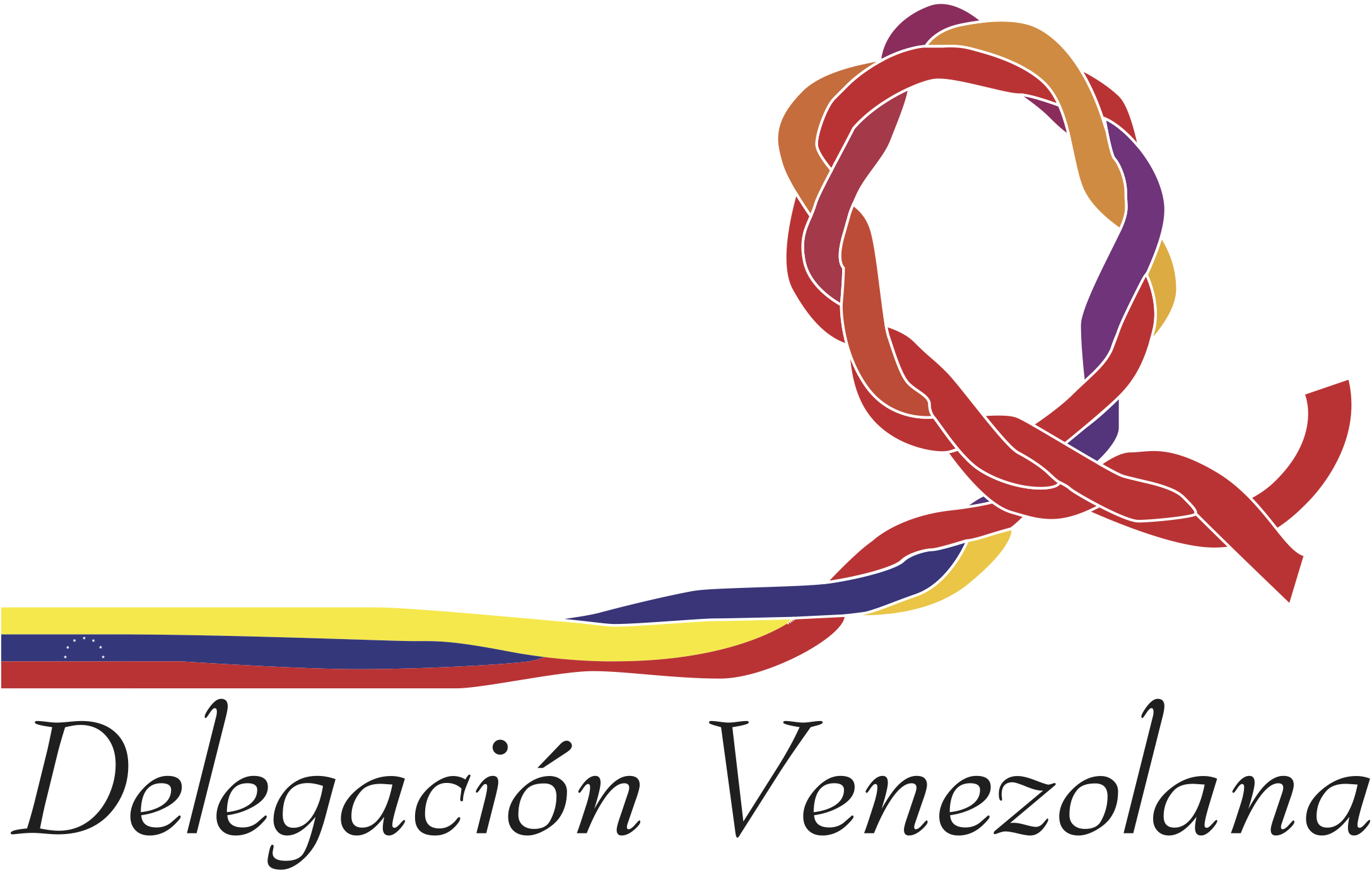 Logo for the 2001 Venezuelan Delegation on HIV/AIDS to the U.N. General Assembly