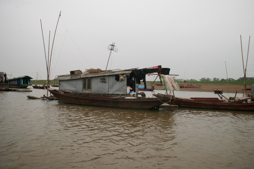 Houseboats on the Red River