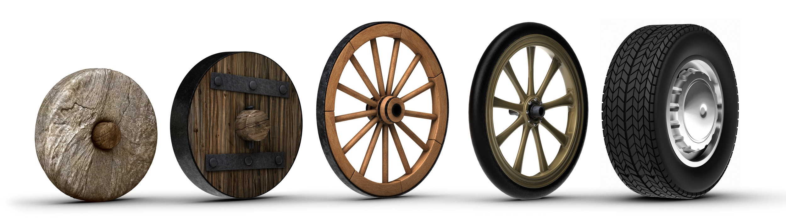 Even the wheel needs to be reinvented from time to time.