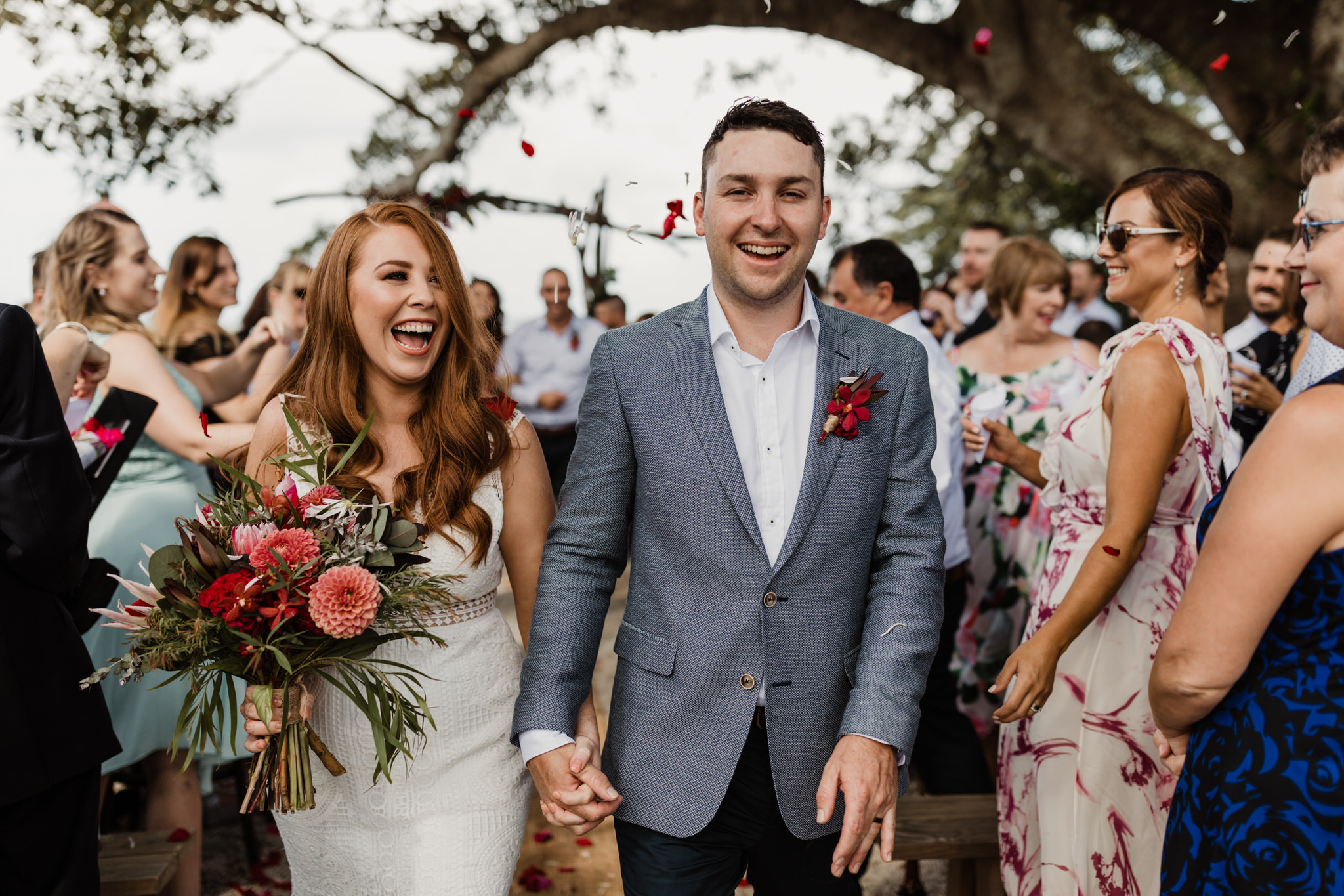 emily & Simon's fig tree restaurant wedding -