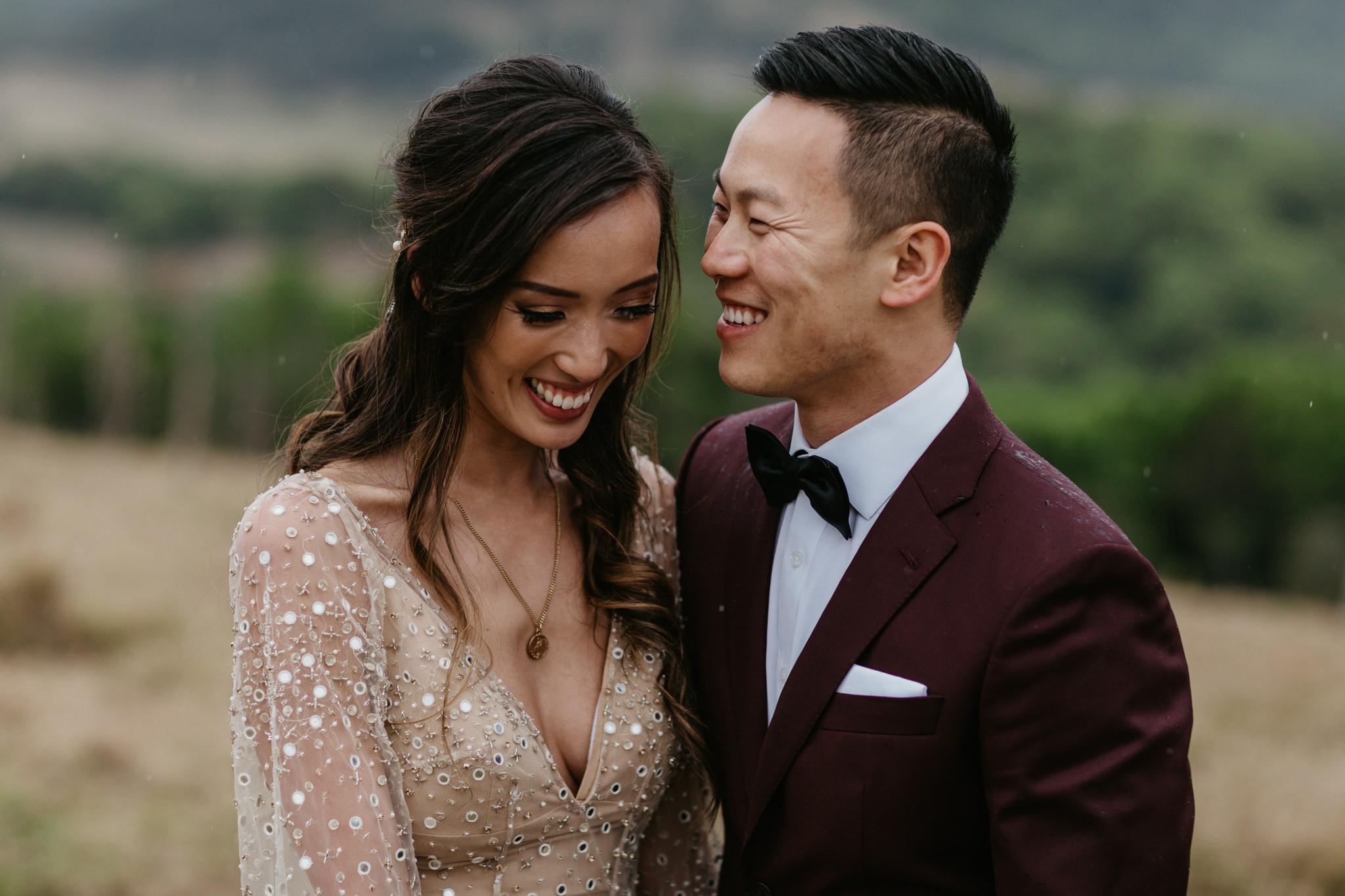 amy & alban's earth House wedding -