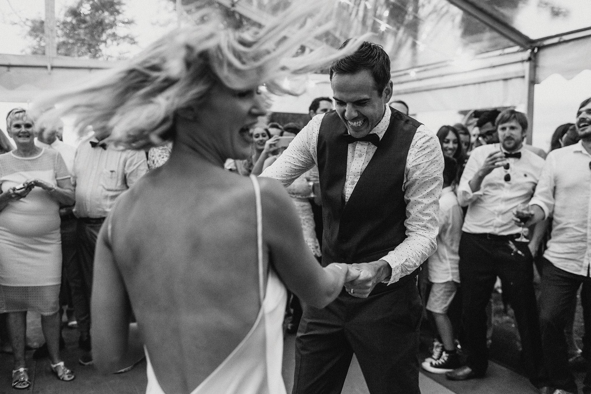 James & Katie's Byron View Farm wedding -