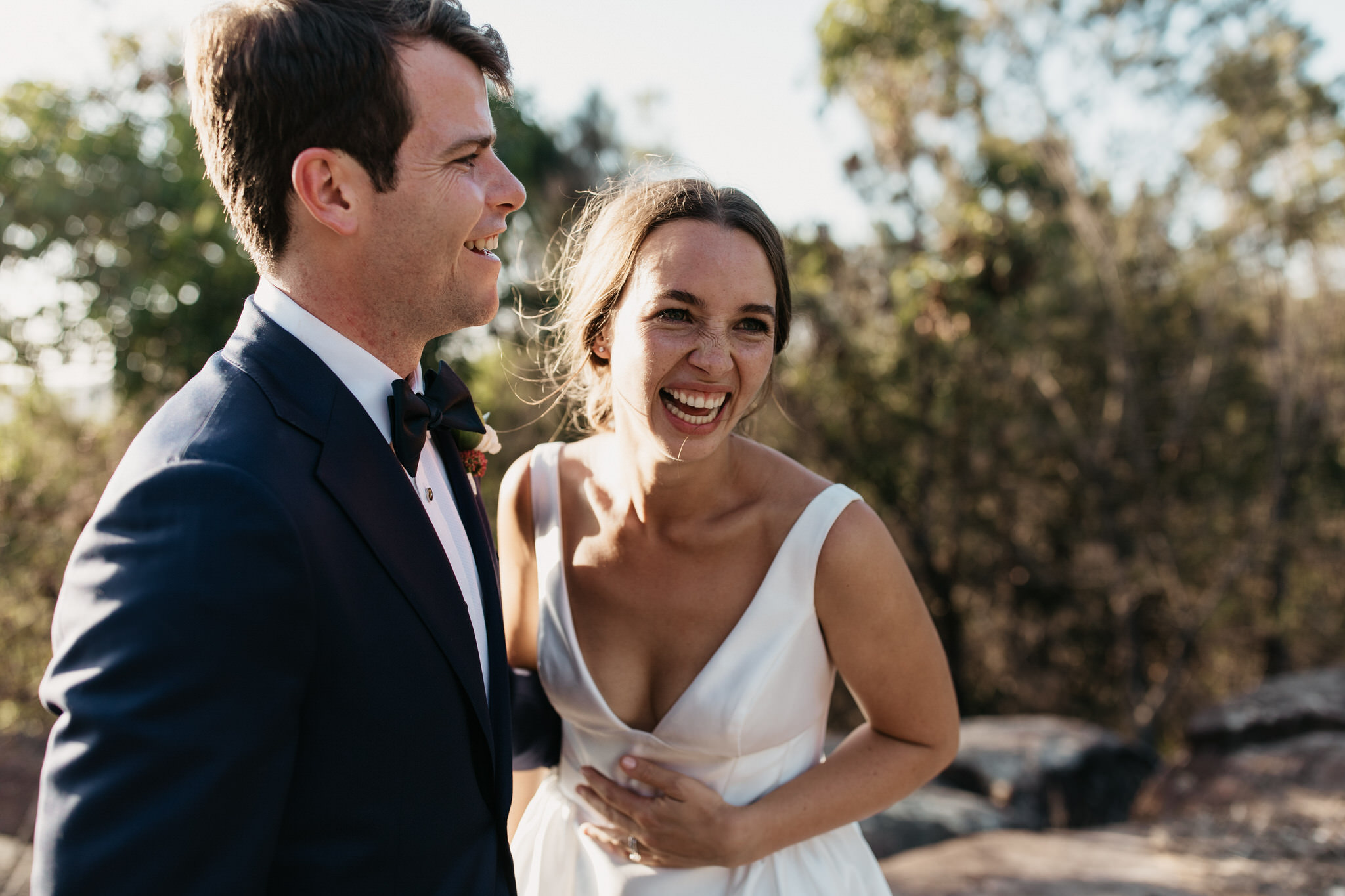 charlie & morgan | backyard south coast wedding -