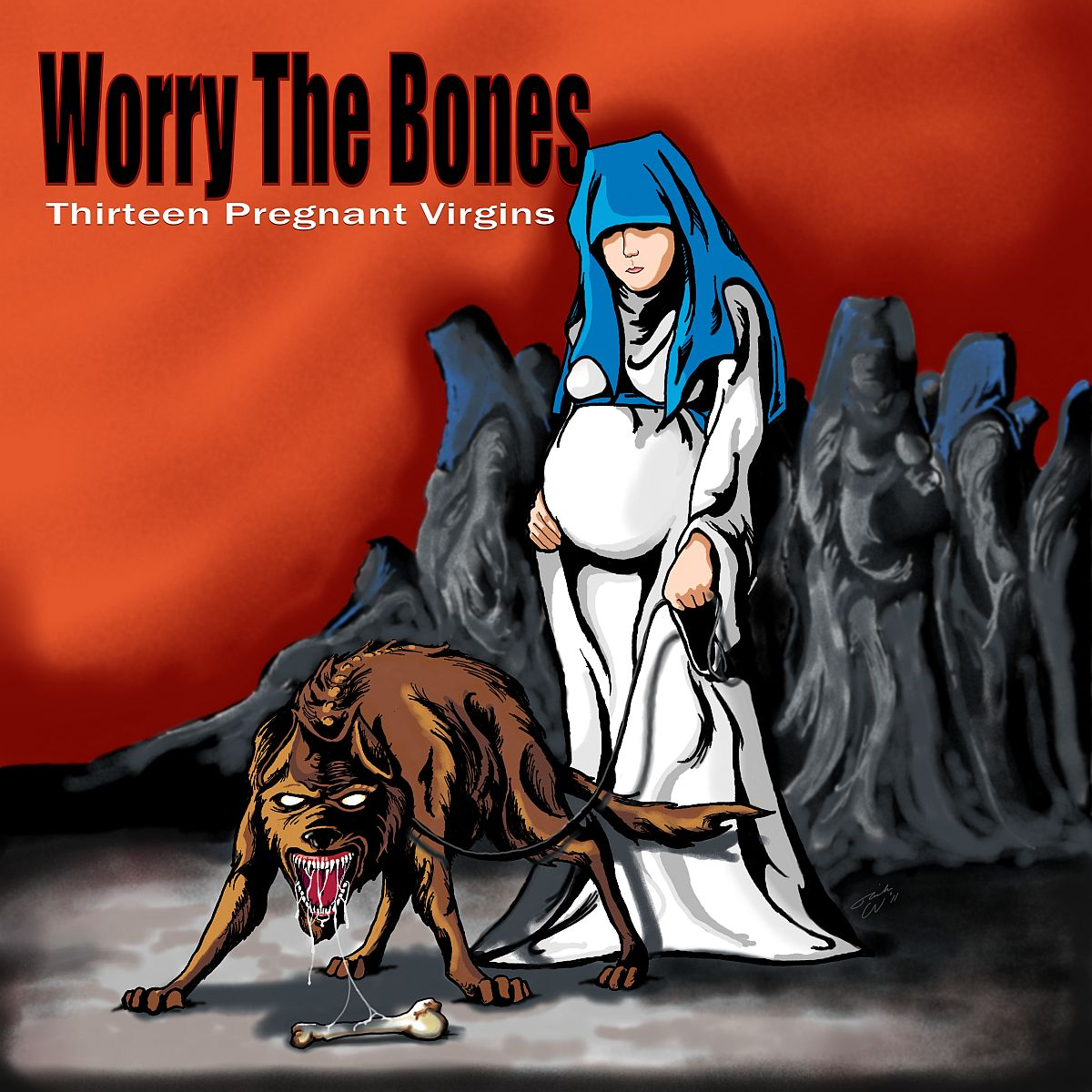 """Featuring the track """"Damage Me"""" by Worry The Bones. Off of the album """"Thirteen Pregnant Virgins""""."""