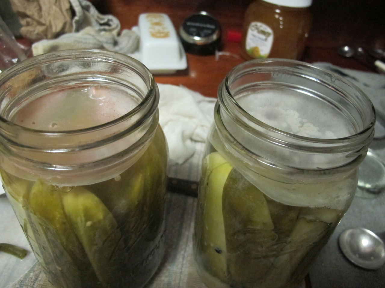 troubleshooting pickle mold