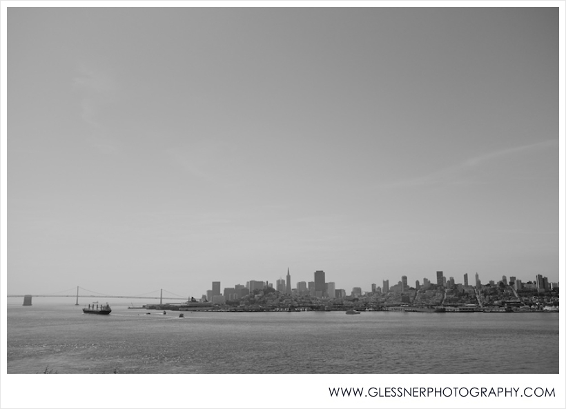 View of San Francisco from Alcatraz. Shot with Fuji X100. Processed with VSCO.