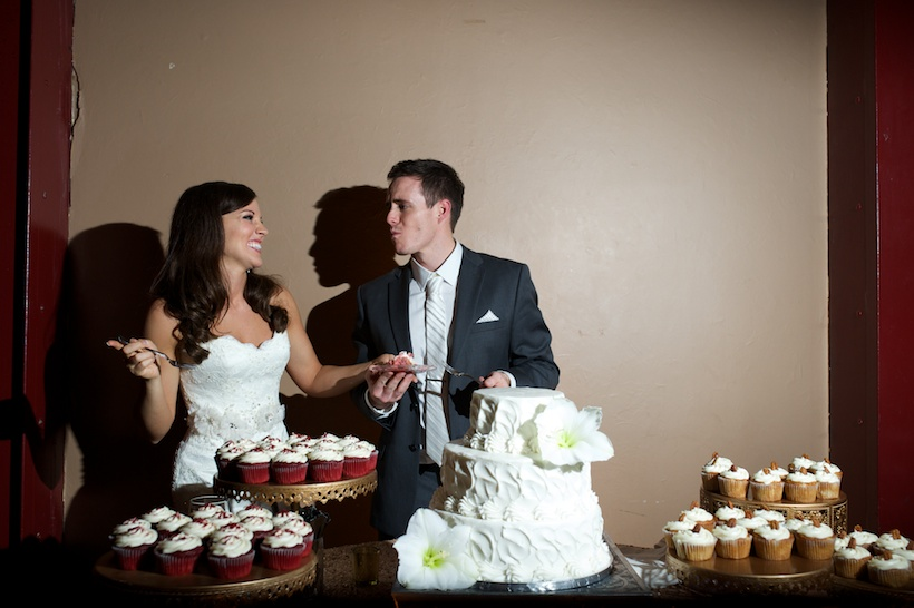 Claire Walters and Spence Tomlinson reception at downtown Nashville wedding venue aVenue on 3rd