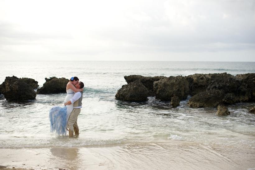 Montego Bay, Jamaica destination wedding at the Grand Palladium Lady Hamilton