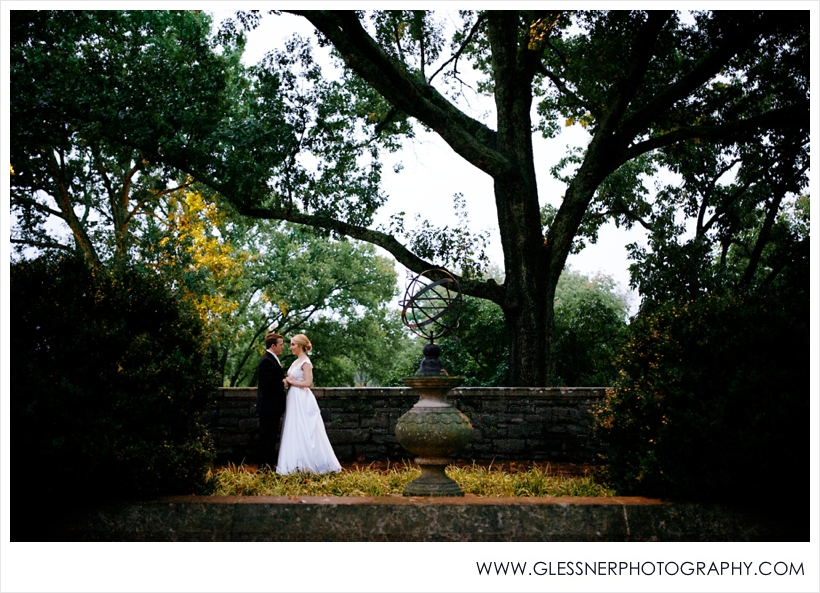 Lauren and Rob's fairytale wedding at Cheekwood Botanical Gardens in Nashville, TN by Glessner Photography.