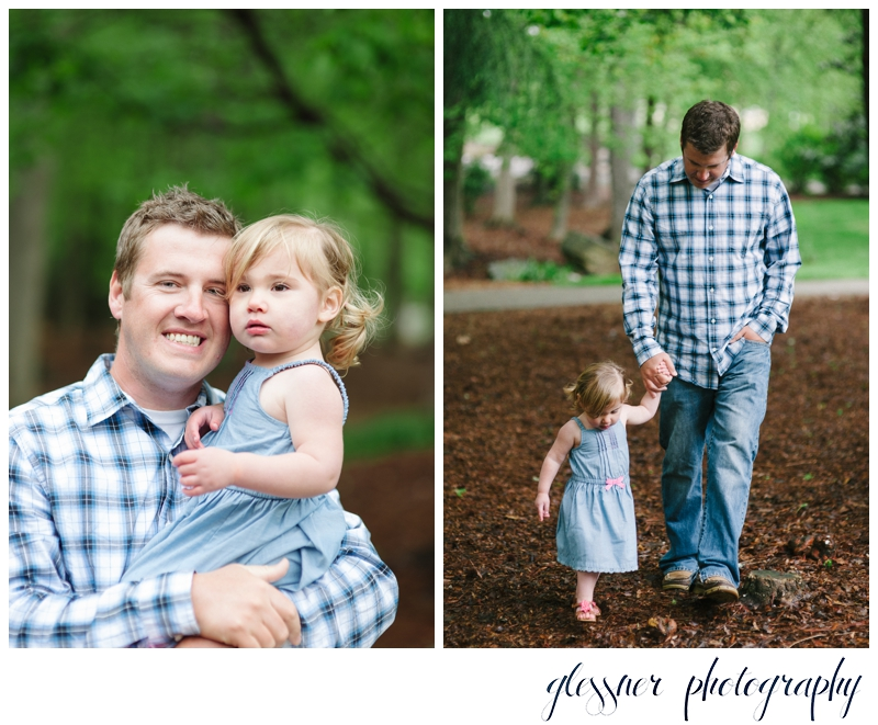 Father-Daughter Mini Session | Glessner Photography | Greensboro Family Photographer.jpg